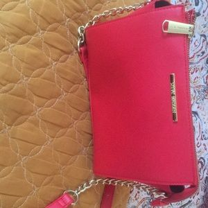 Red Steve Madden purse